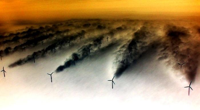 Energia eolica in chiave espressionista
