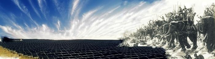 Energia fotovoltaica in chiave surrealista