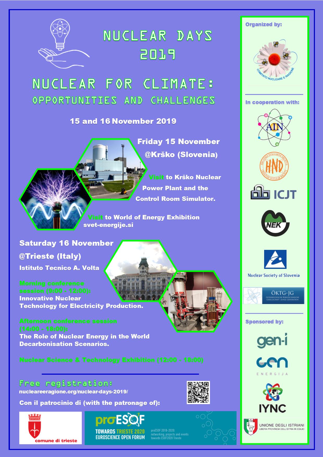 Locandina Nuclear Days poster