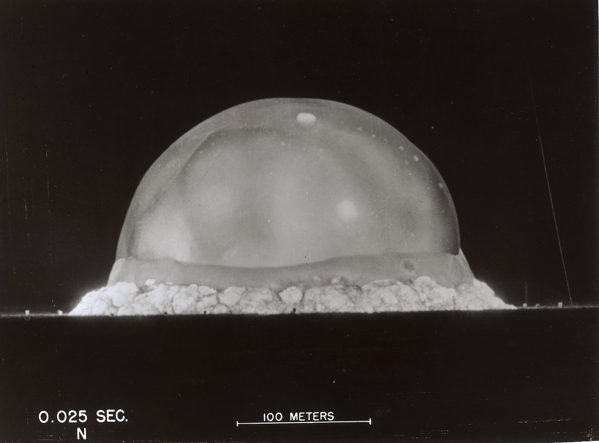 First Nuclear Test 0.025 Sec